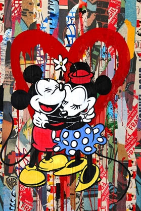 Art Link International | Mickey & Minnie – Mr. Brainwash